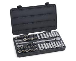 49Pc 1/2 Drive 6Pt Socket Set