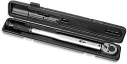 EPAuto 1/2-Inch Drive Click Torque Wrench, 10 ~ 150 ft./lb.,