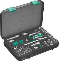 "WERA 05003535001 1/4"" Drive Socket Wrench Set, SAE, 41pcs"