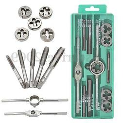 12Pcs/Lot Metric Adjustable Taps Dies Wrench Handle Tap and