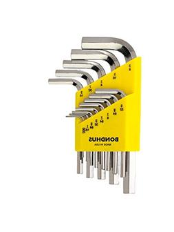 Bondhus 16237 Set of 13 Hex L-wrenches with BriteGuard? Fini