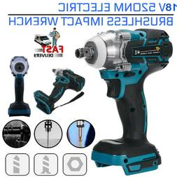 18V 1/2'' 520NM Torque Electric Impact Wrench Brushless Cord