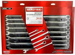 Craftsman 20 pc Piece Combination Ratcheting Wrench Set Metr