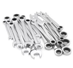 20 piece pc ratcheting combination wrench set