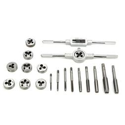 20pcs/Set Taps and Dies Kit Screw Thread & Tap Wrench & Die
