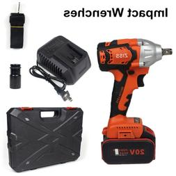 """20V Cordless Impact Wrench 1/2""""Brushless Electric Wrench Dri"""