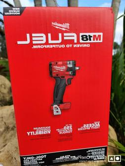 """Milwaukee 2854-20 M18 3/8"""" Drive Stubby Impact Wrench Bare T"""