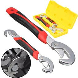 2PC Snap'N Grip 9-32mm Adjustable Wrench Spanner Universal Q