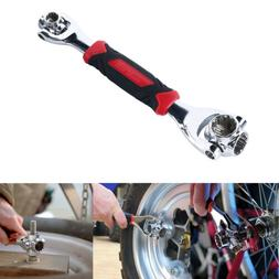 48 Tools In One Socket Best Dog Bone Metric Wrench 48 in 1 S