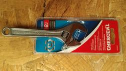 """Crescent 6"""" Adjustable Wrench Extra Wide Capacity AC26VS"""