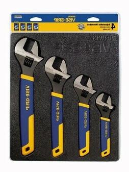 4 Piece Adjustable Wrench Tray Set , Sold As 1 Set