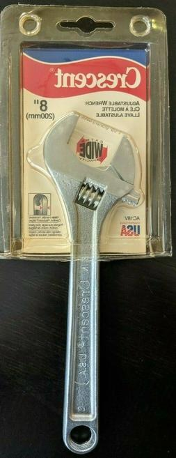 """Crescent AC28VS 8"""" Adjustable Wrench"""