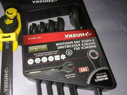 Brand New Husky Ratcheting Wrench Set And Brand New Husky St