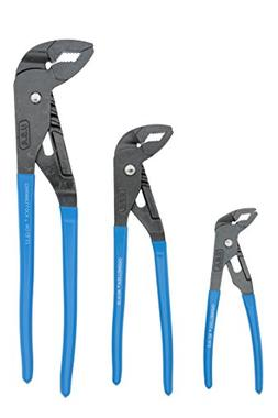 Channellock 3 Piece Griplock Set
