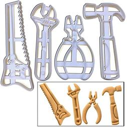 SET of 4 Tool cookie cutters , 4 pcs, Ideal gift for carpent