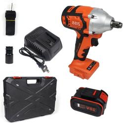 """Cordless Electric Impact Wrench 1/2""""Brushless Wrench Driver"""