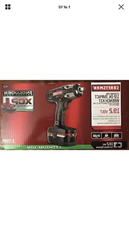 "Craftsman C3 ½"" Heavy Duty Impact Wrench Kit Powered By 4"