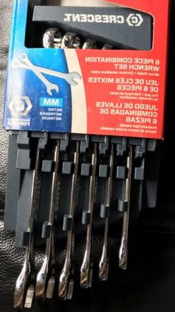 Cresent Model CCSW1 MM 6 PIECE COMBINATION WRENCH SET