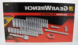 KD Tools 80300 51-Piece 1/4-inch Drive 6-Point SAE/Metric So