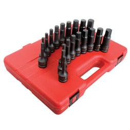 "20 Piece 1/2"" Drive Impact Hex Driver Master Set"