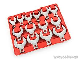 TEKTON 2585 1/2-Inch Drive Jumbo Crowfoot Wrench Set, Inch,