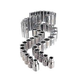 Craftsman 49 Pc. Easy to Read Socket Set, 6 Pt. Std. And Dee