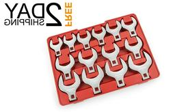 Extended Attachment Drive Jumbo Crowfoot Wrench Set, 1-1/16-