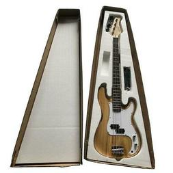 Glarry GP Left-Handed Electric Bass Guitar with Cord Wrench