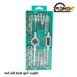 Hand Tools 20pcs High Quality Tap And Die Set Metric Thread