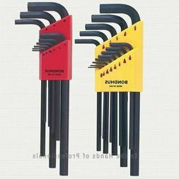 Bondhus 22-Piece Hex L-Wrench Combination Set, SAE/Metric