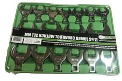 jumbo crowfoot wrench set mm