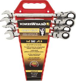 KD Tools KDT9703 4 Piece Flex Head GearWrench Completer Set-