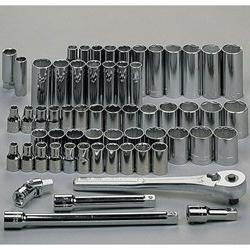 Craftsman 60 pc. 1/2 Drive SAE/Metric Socket Set - 9-46300