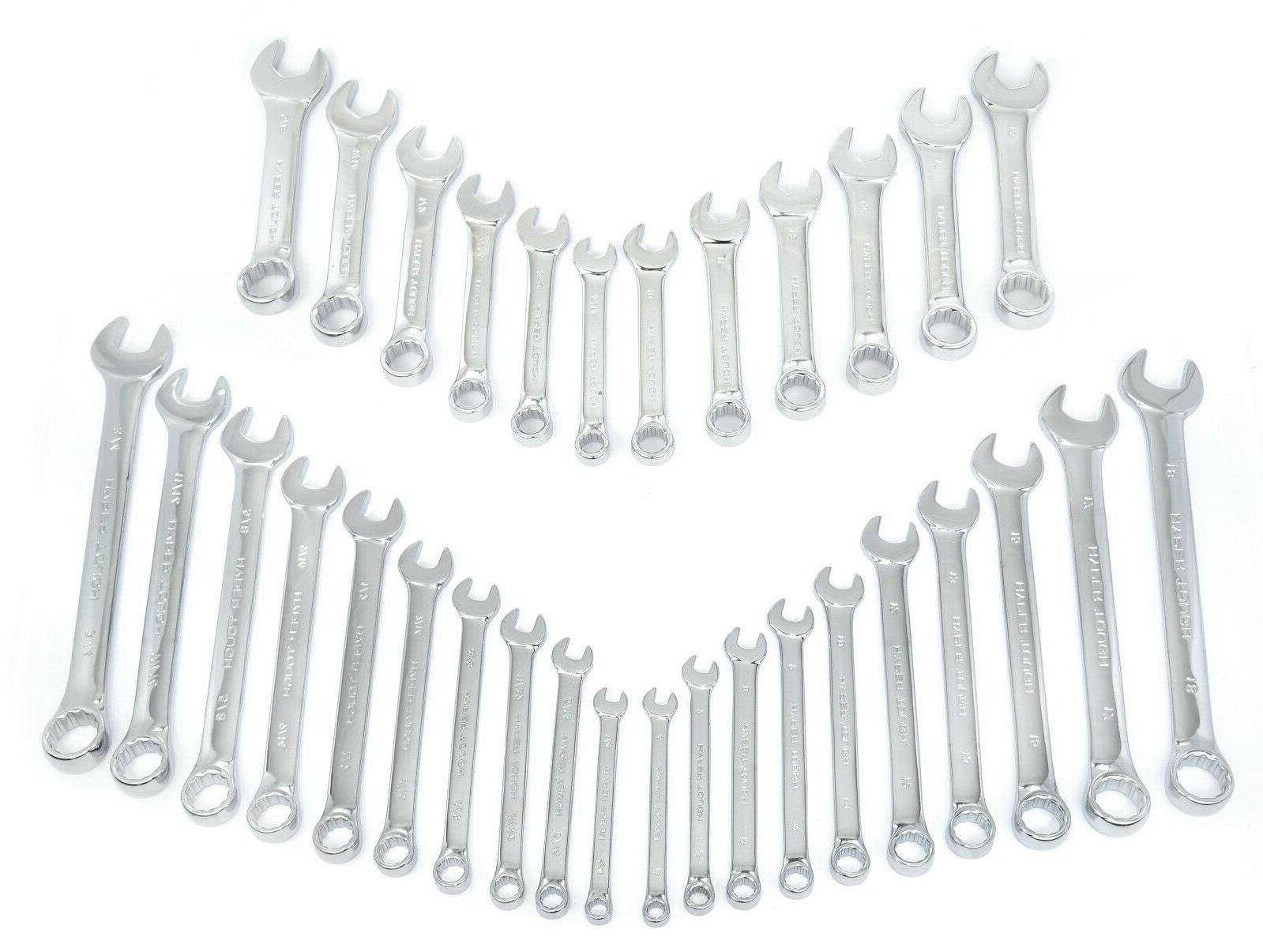 32 Combination Wrench Tool and SAE Standard