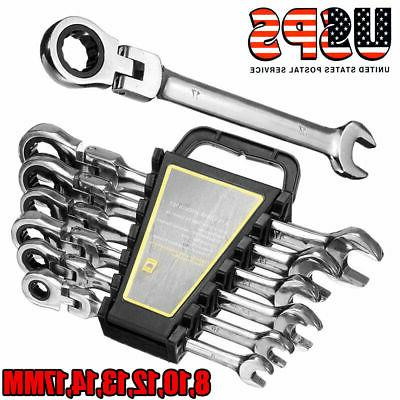 6 pcs gear wrench reversible ratcheting combination
