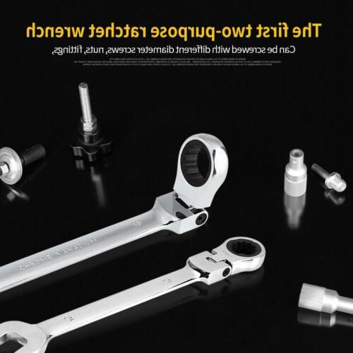 Reed R110HEX Offset Smooth-Jaw Wrench