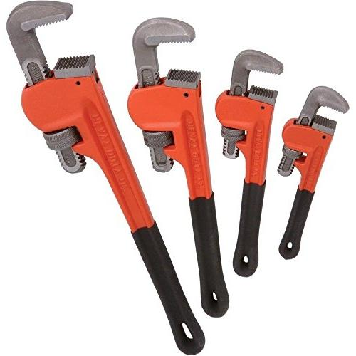 adjustable heavy duty pipe wrench