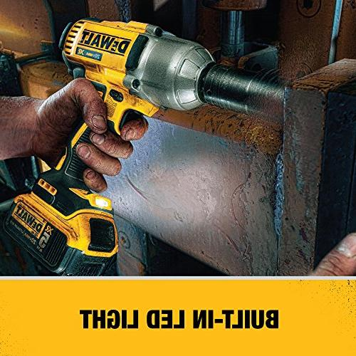 DEWALT 20V Impact Wrench with Dentent Pin
