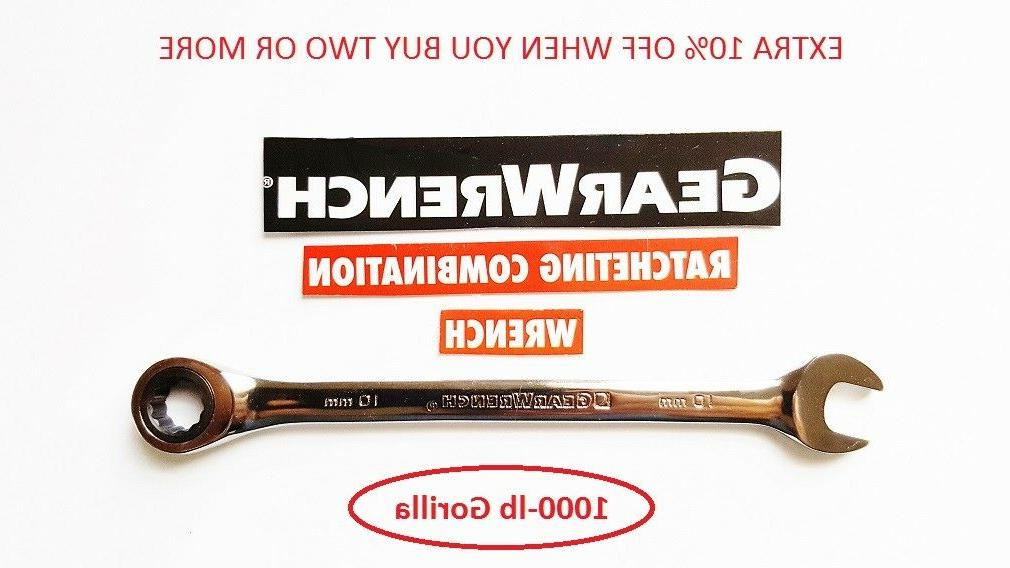 Gearwrench Flat - SAE Combination New