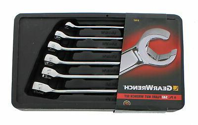 gearwrench 81907 6 piece sae flare nut