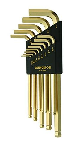 GoldGuard Balldriver L-Wrench Sets - 13 piece gold guard bal