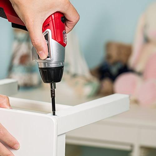 Hex Drill Magnetic Tips - Release Easy Attachment - Steel - Long Ikea Furniture