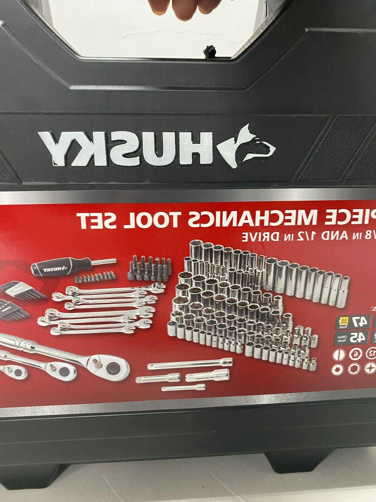 Husky Tool Sockets and Drivers, Piece with Case, H149MTS