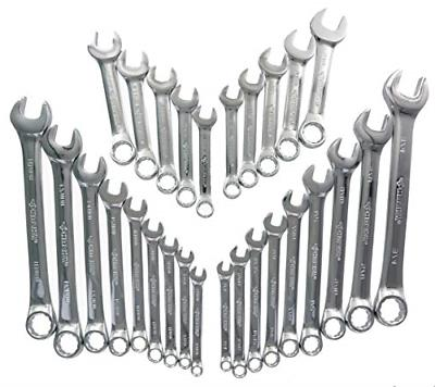sae metric combination wrench set