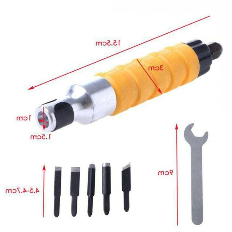 US Chisel Knives Wrench Hand Drill