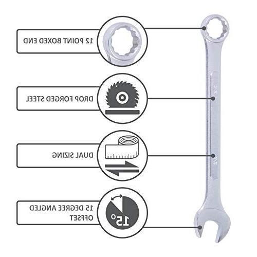 Wrench Set, 22 Combo Set and Metric