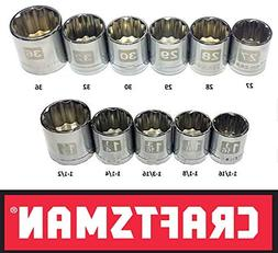 Craftsman Laser Etched Easy Read 11 Piece Large Metric & Sta
