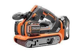 RIDGID 18 V Li-On Cordless GEN5X Brushless Belt Sanders Powe