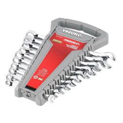 Husky 10-Piece METRIC Combination Open Box End Combo Wrench