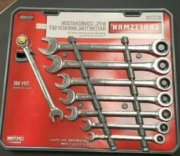 Craftsman 8 pc Metric Combination Ratcheting Wrench Set, # 2